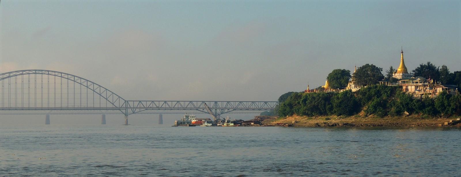 Der Irrawaddy bei Sagaing