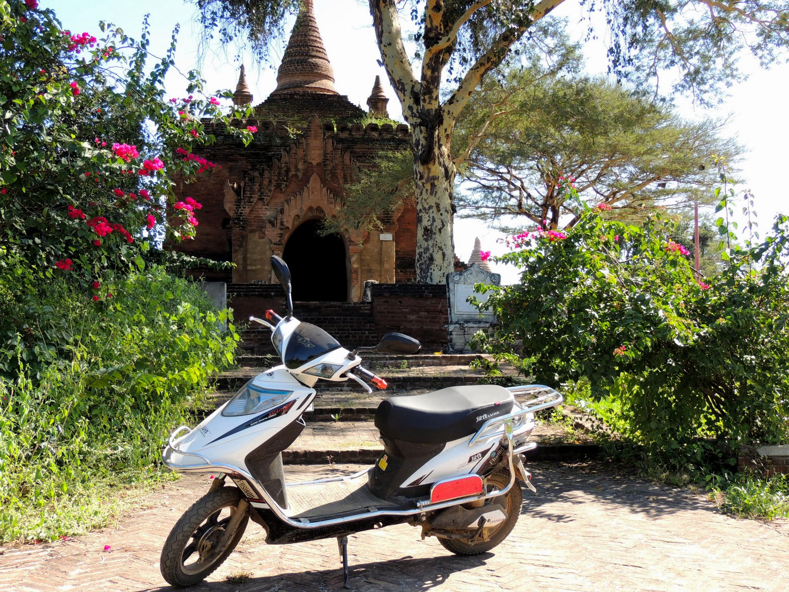 E-Roller in Bagan Burma