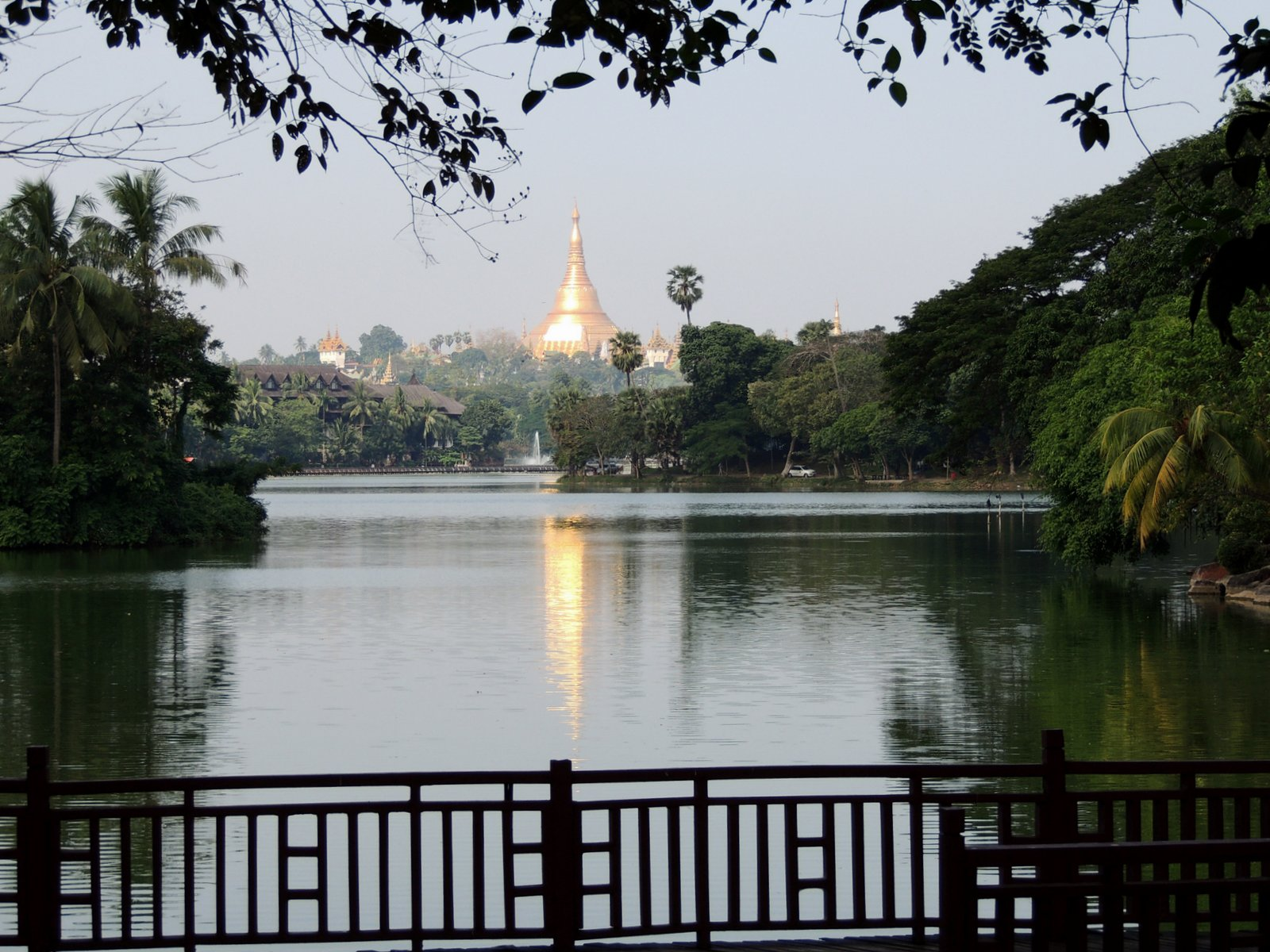 Königlicher See Rangun Burma
