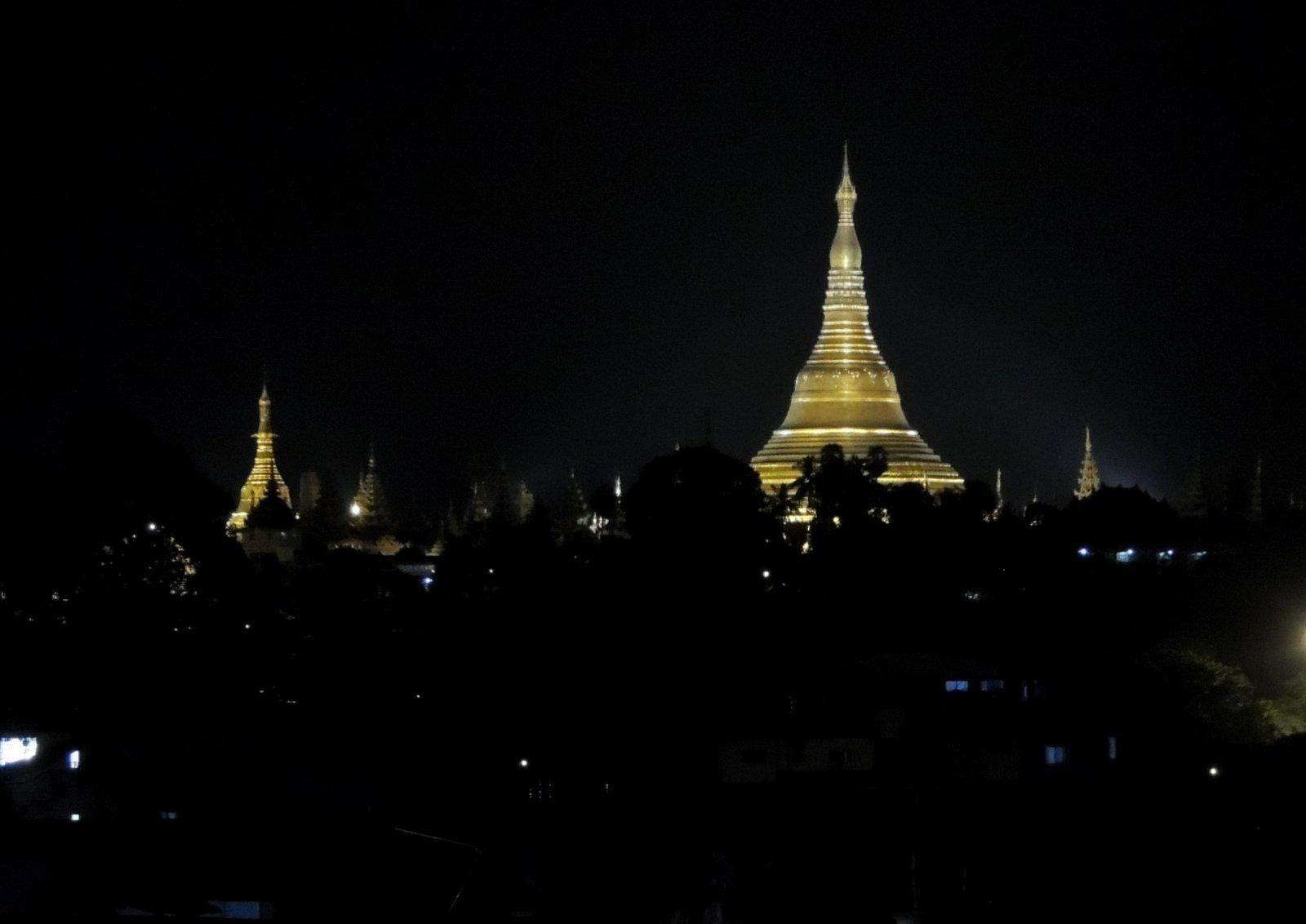 Swedagon Pagode Rangun Burma