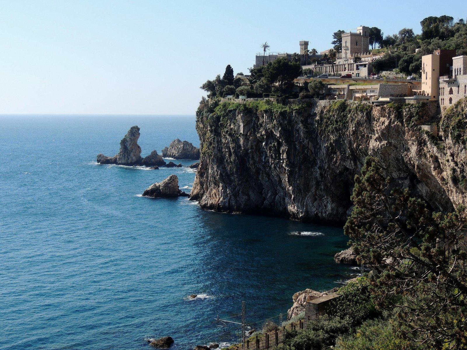 Bucht bei Taormina