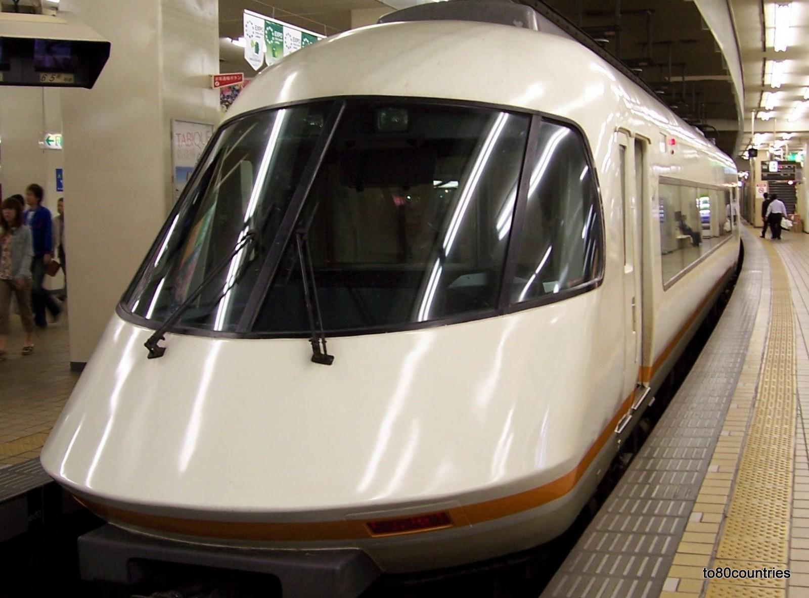 Kintetsu Limited Express in Japan