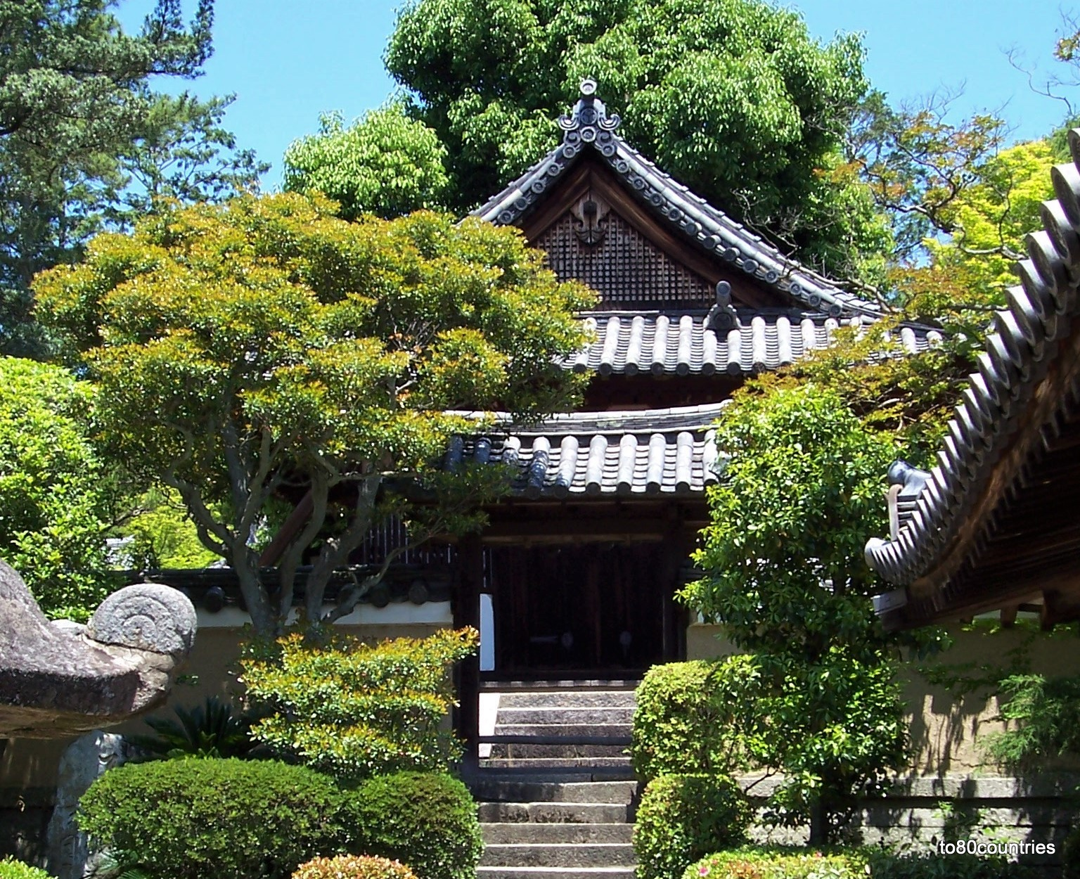 Toshodai-ji Tempel in Nishinokyo - Japan