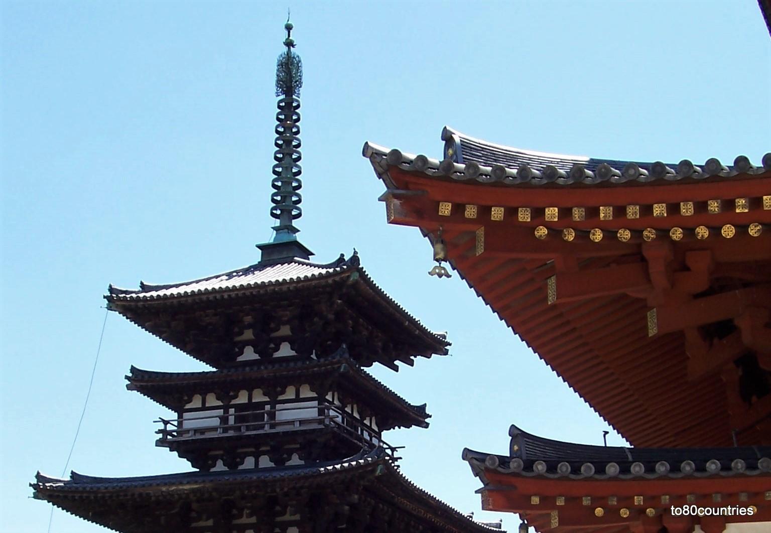 Östliche Pagode des Yakushi-ji Tempel - Nishinokyo - Japan