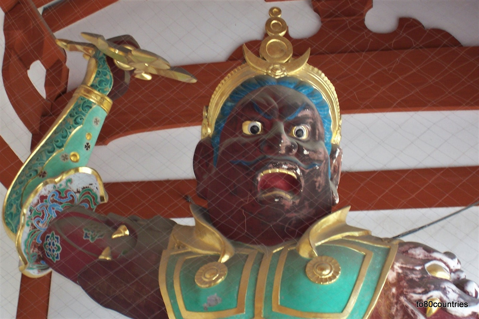 Agyo Nio Statue im Tempel Yakushi-ji - Japan