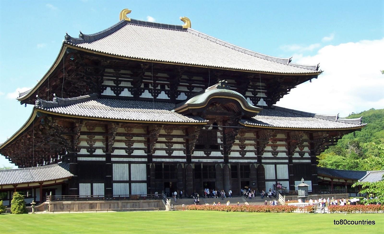 Der Todaiji Tempel - Große Buddhahalle - Nara - Japan
