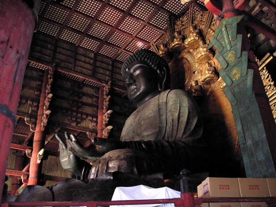 Der Todaiji Tempel - Daibutsu