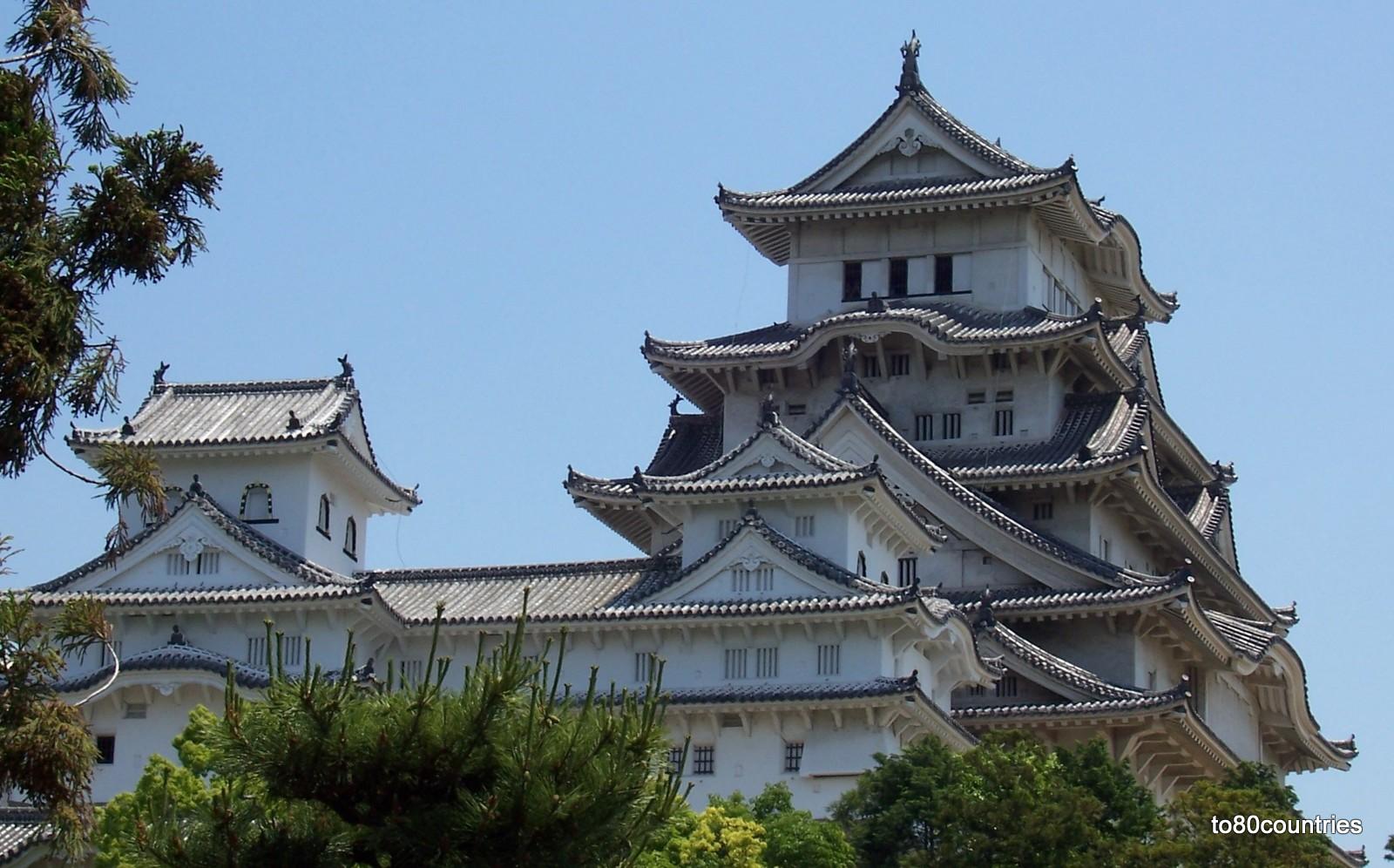 Schloss von Himeji auf Honshu