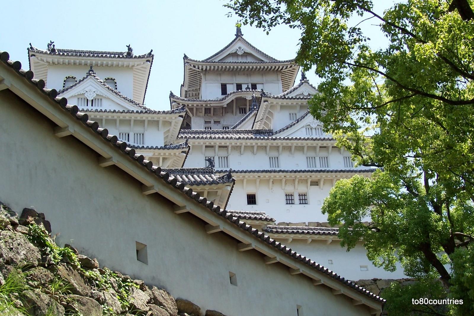 Burg von Himeji auf Honshu