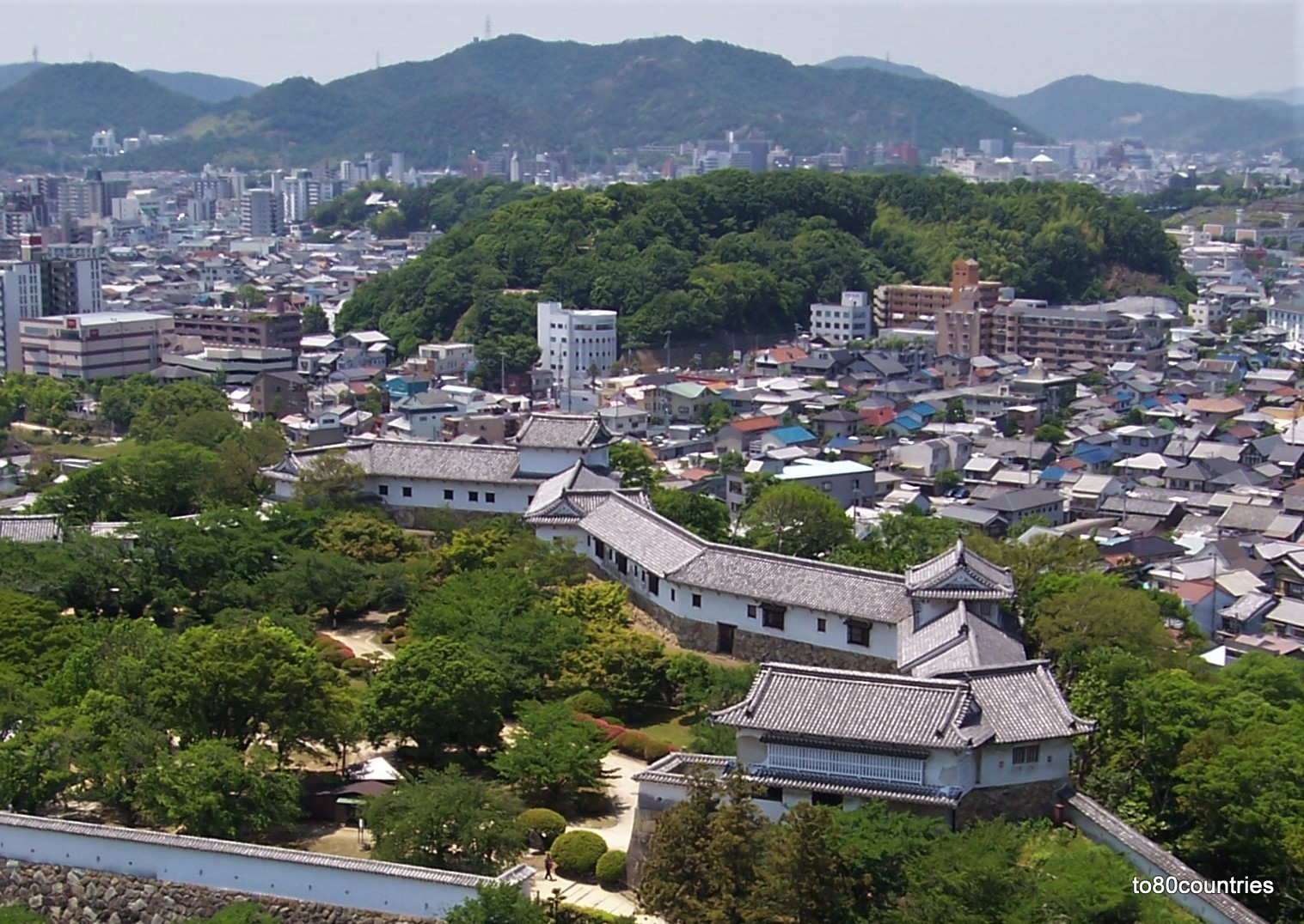 Burg des weißen Reihers in Himeji / Honshu