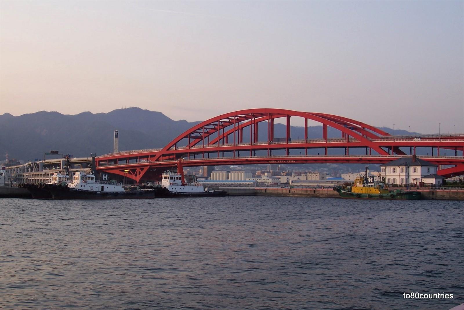 Hafenbrücke von Kobe - Honshu