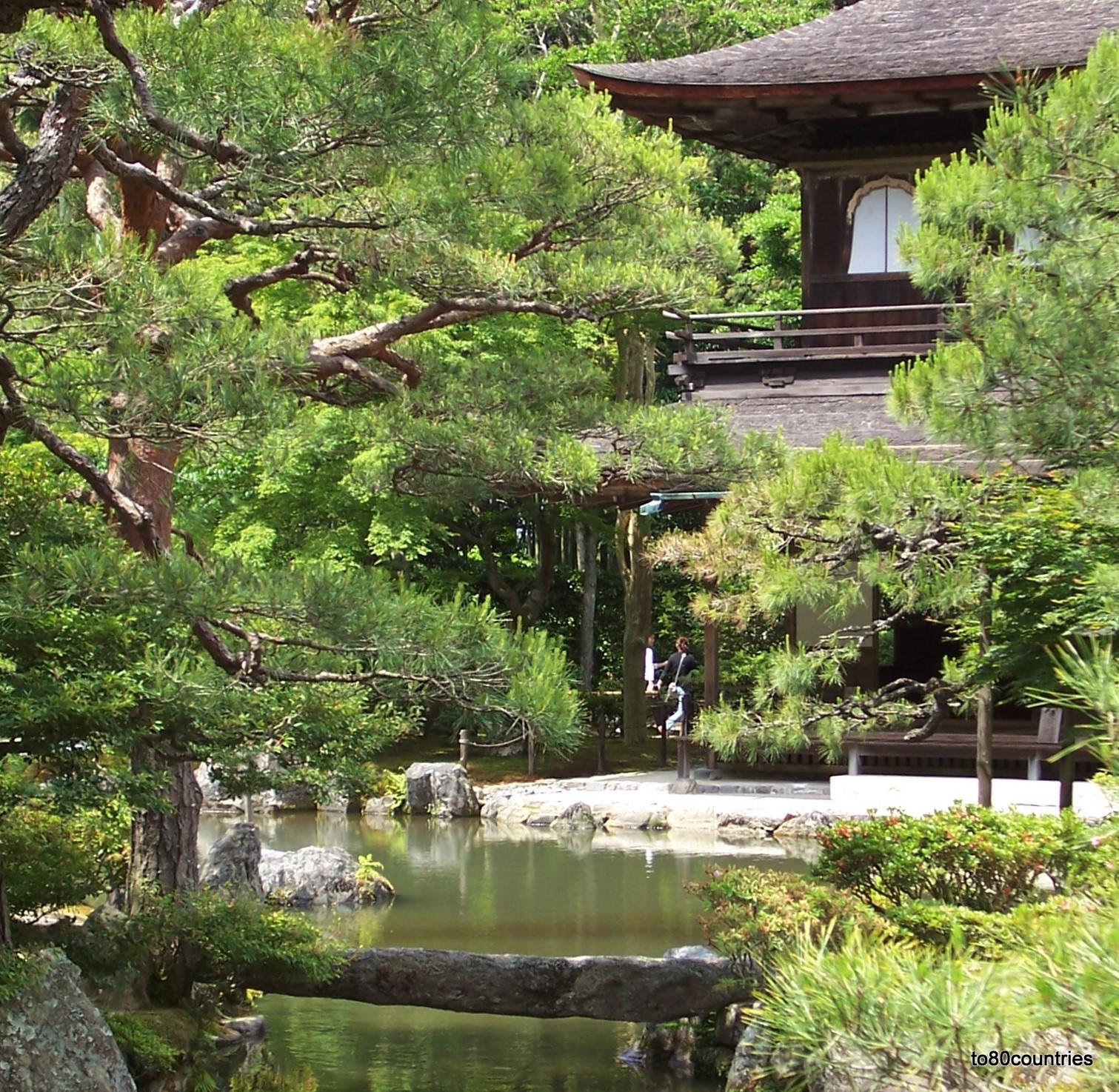 Silberner Pavillon in der Kaiserstadt Kyoto