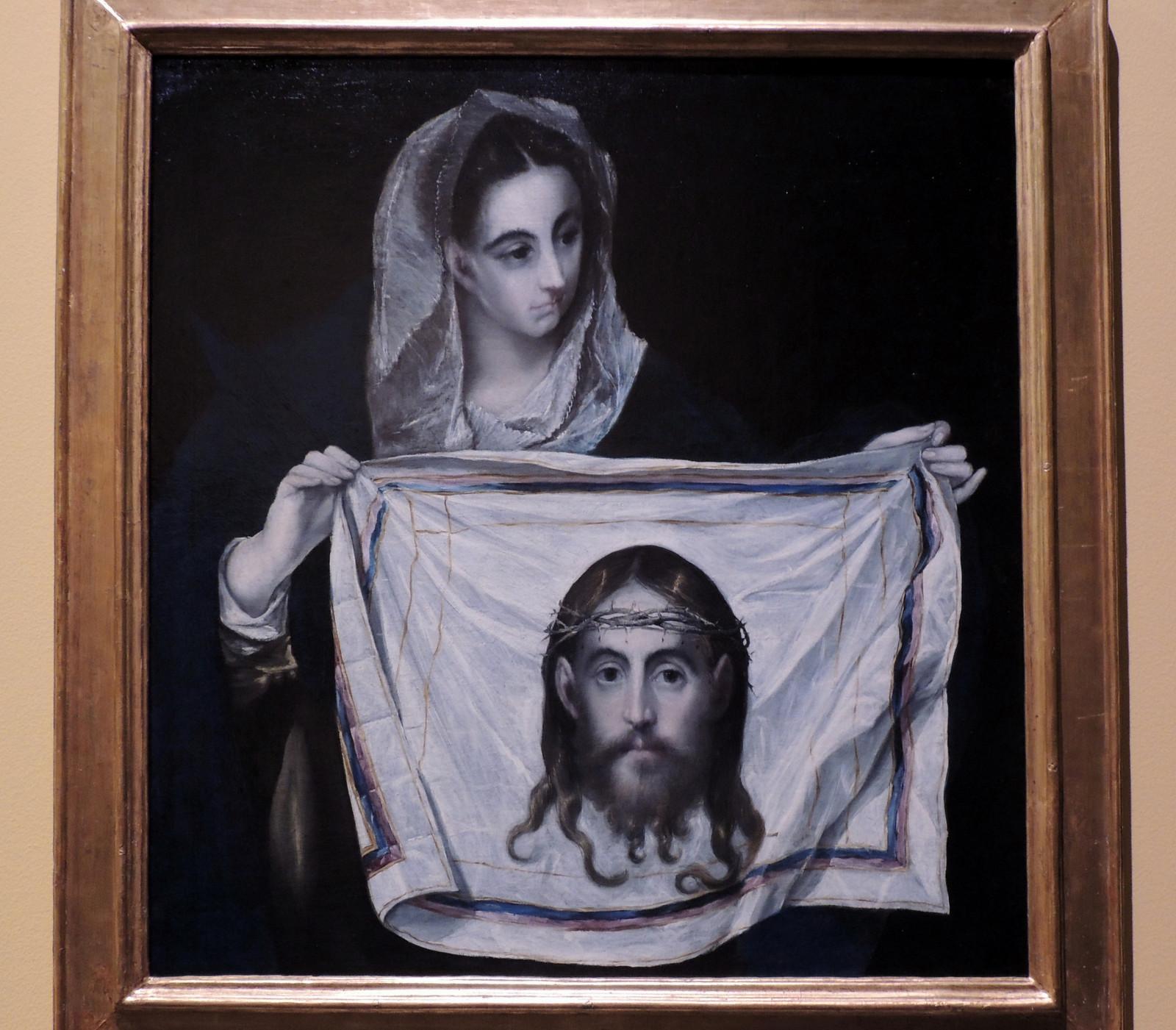 Veronika von El Greco in Toledo
