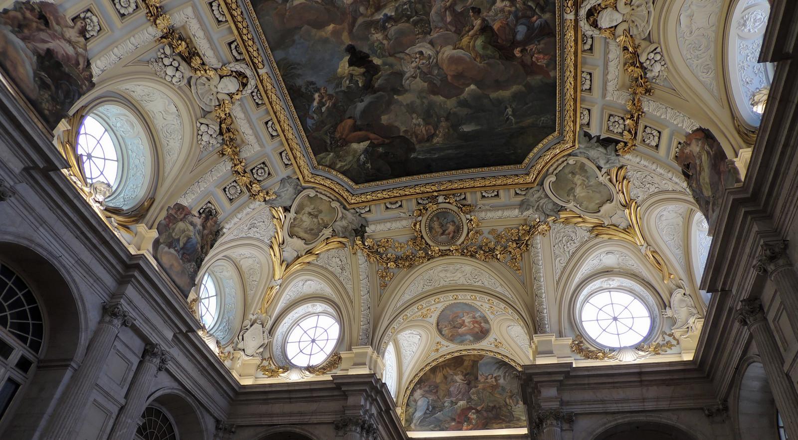 Im Königlichen Palast zu Madrid