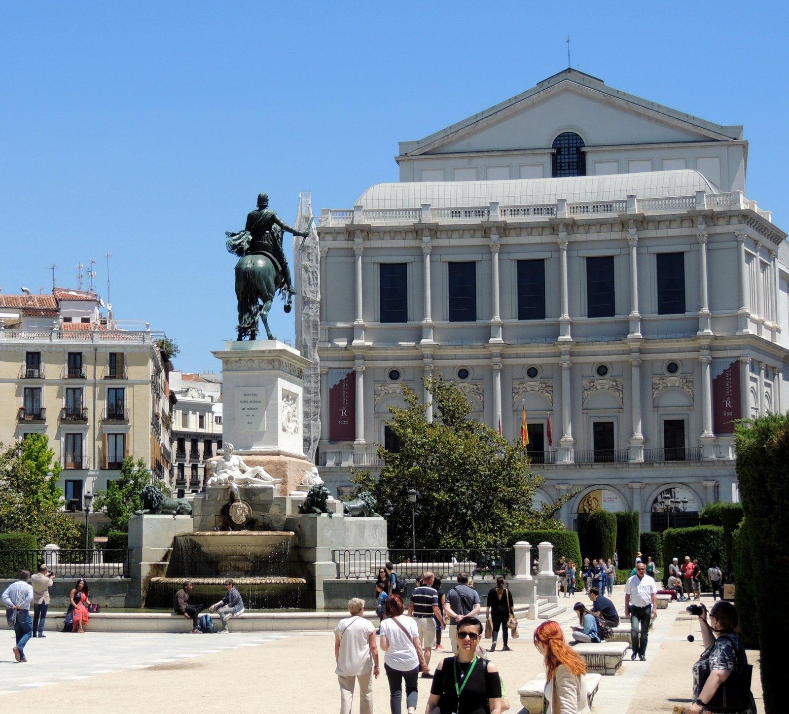 Plaza del Oriente Madrid
