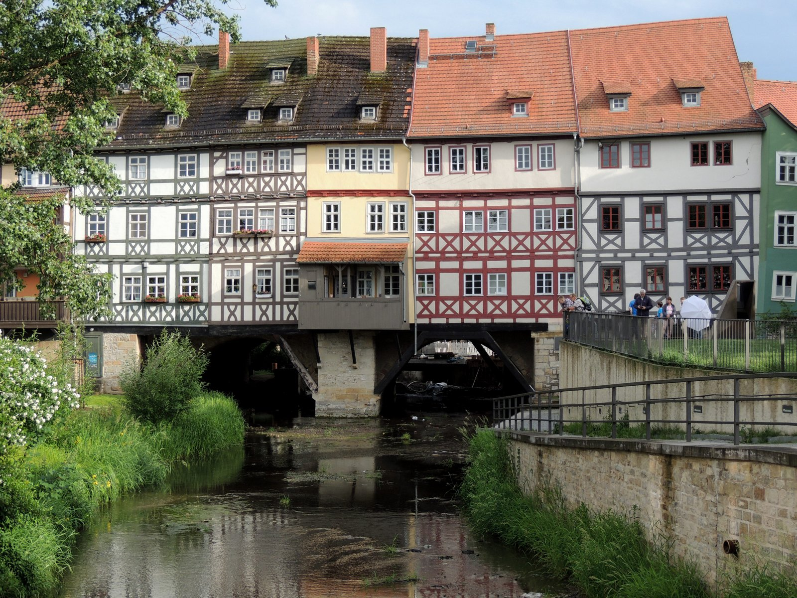 Krämerbrücke Erfurt / Thüringen