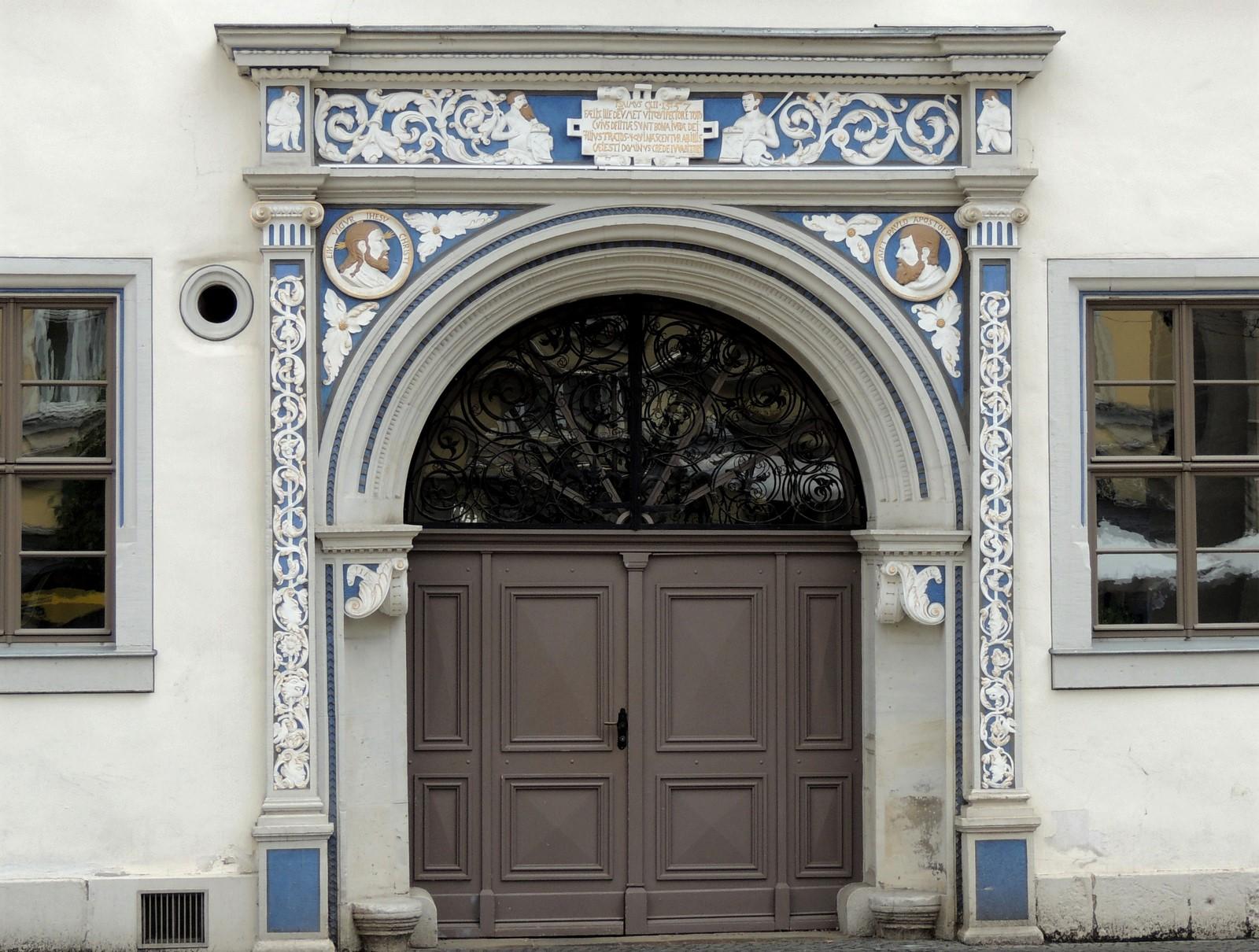 Bürgerpalais der Familie Dacheröden in Erfurt