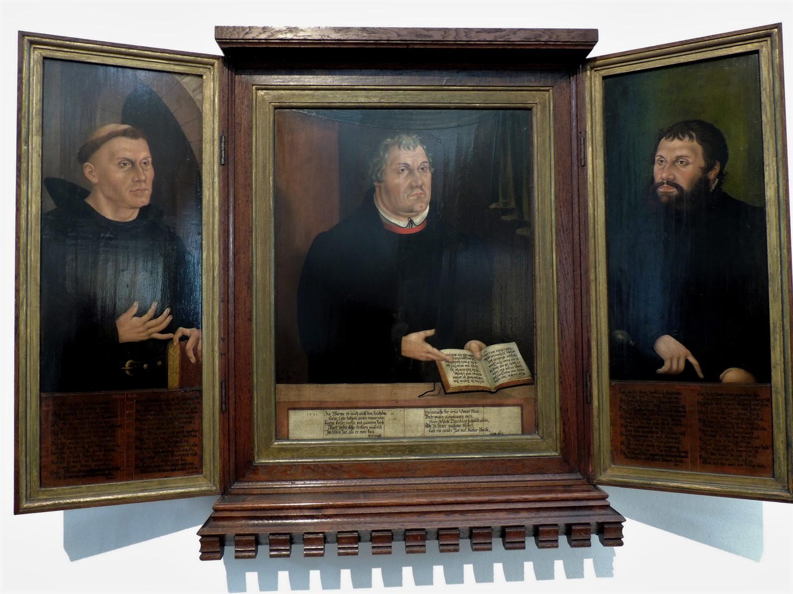 Triptychon von Veit Thim - Luther - Thüringen