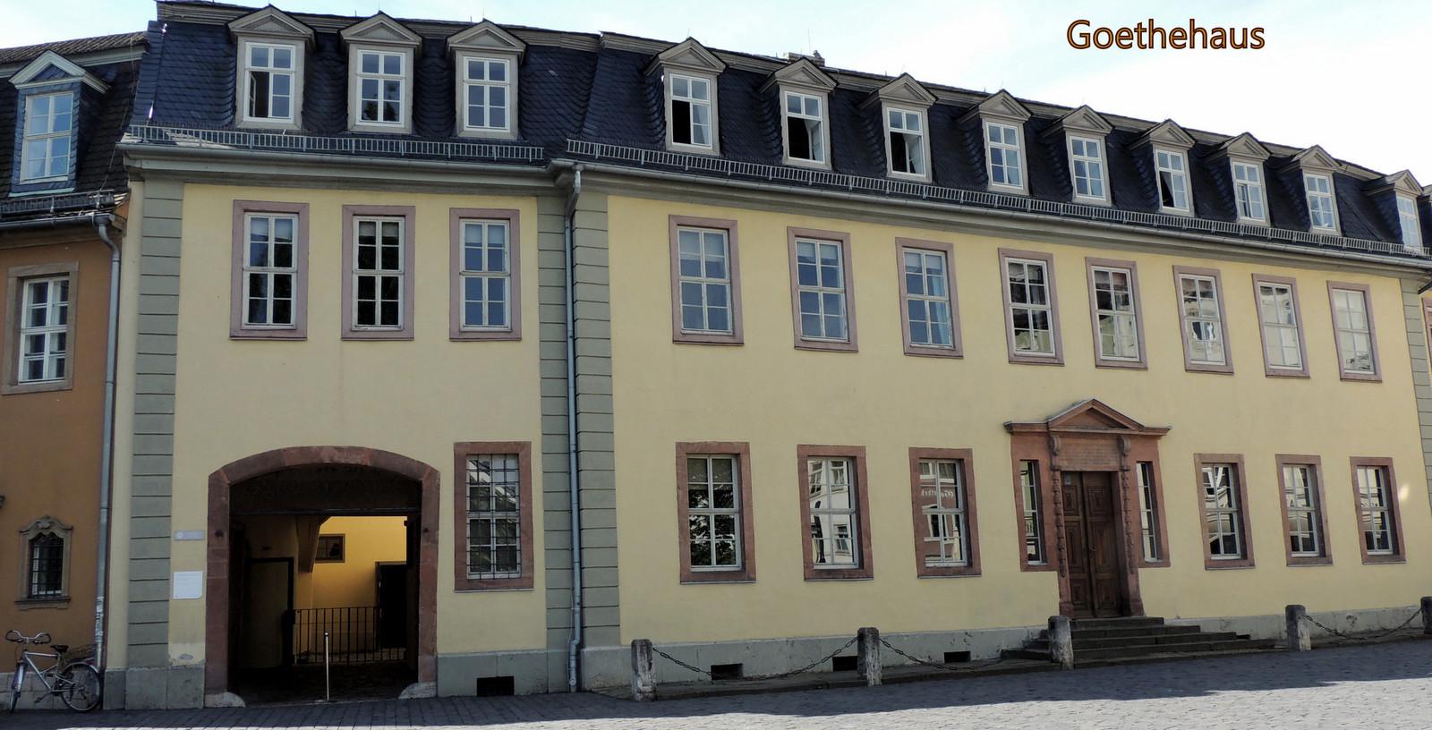 Goethehaus in Weimar / Thüringen