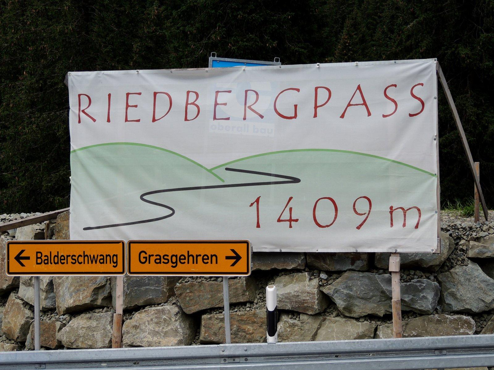 Riedbergpass