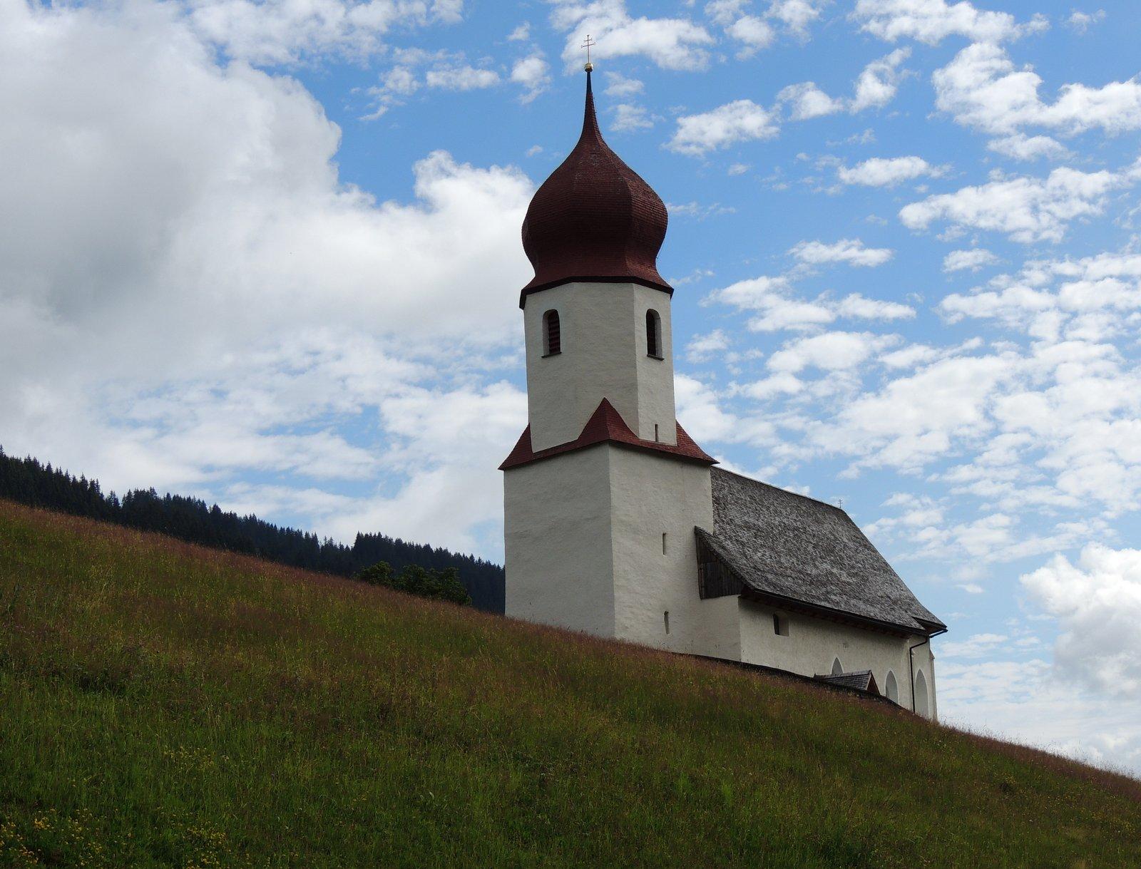 Kirche von Damüls