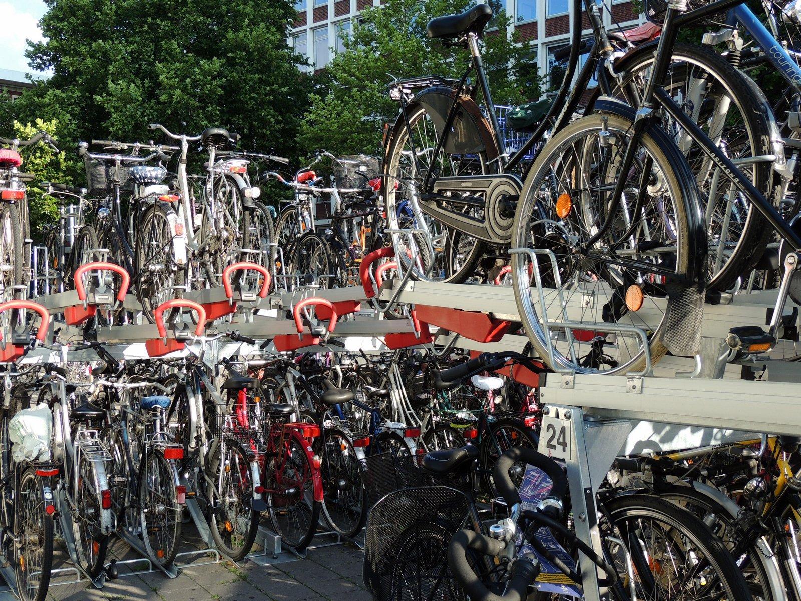 Fahrradparkplatz Münster Hbf