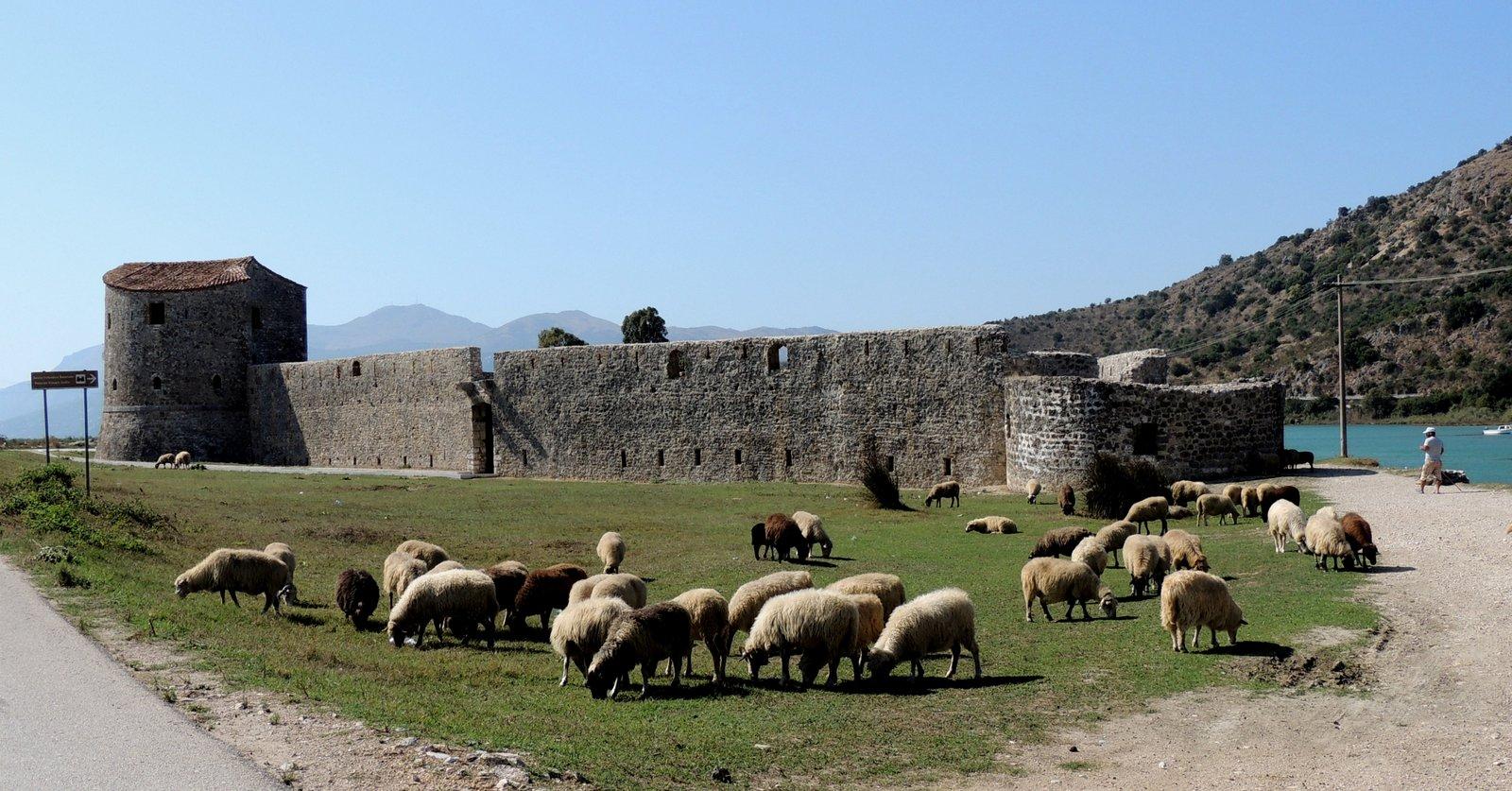 Venezianische Festung bei Butrint in Albanien