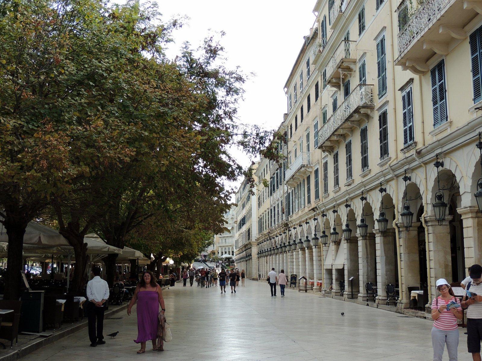 Esplanade Korfu