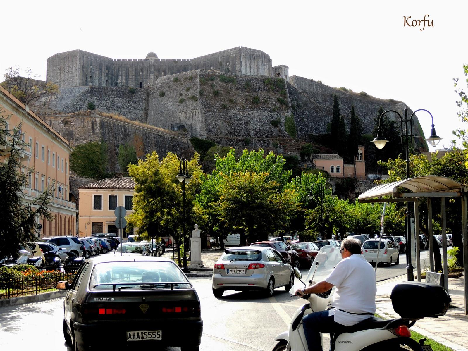 Neue Venezianische Festung auf Korfu