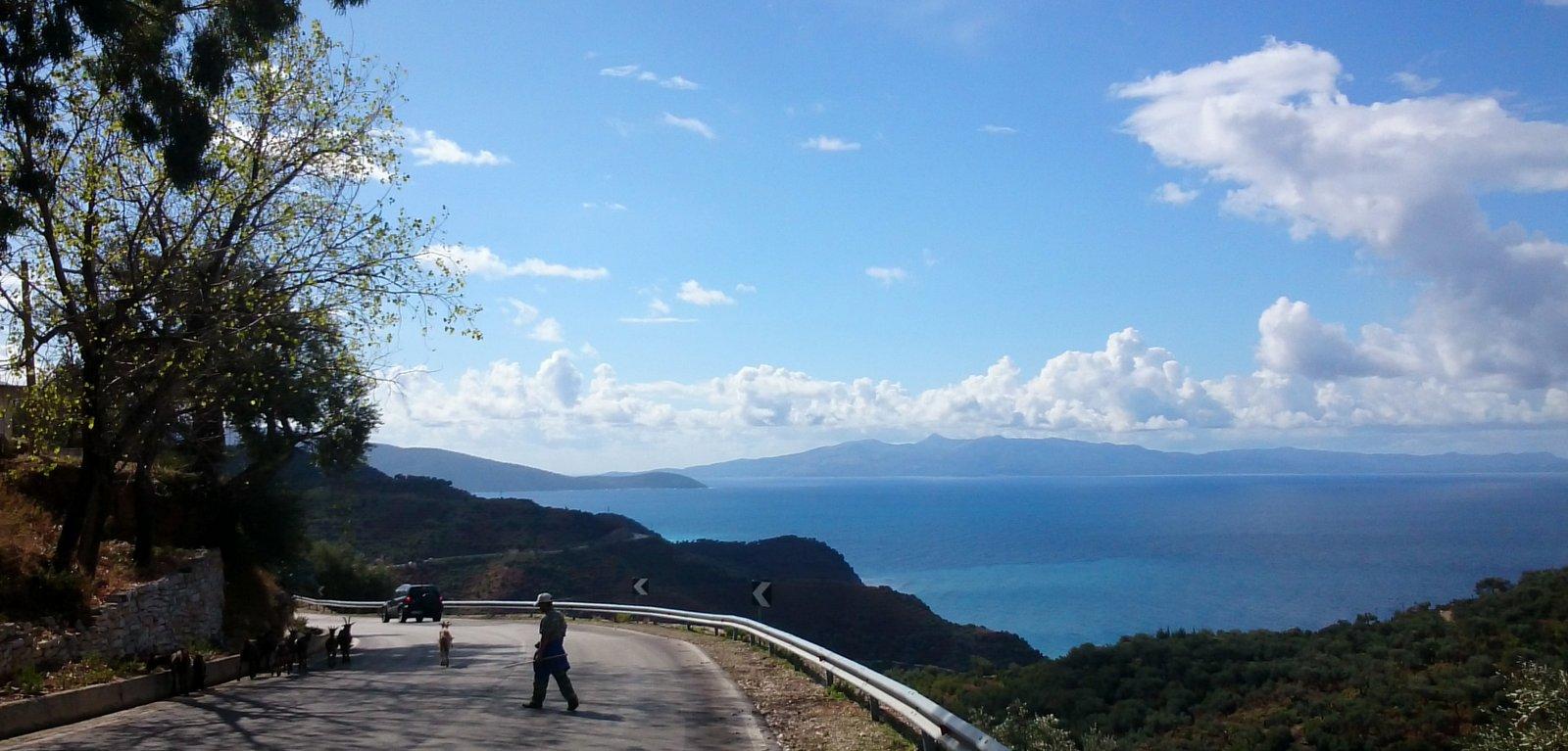 Ionische Küste Albanien
