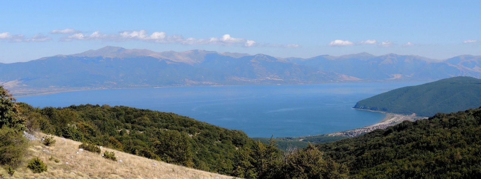 Der Große Prespa-See