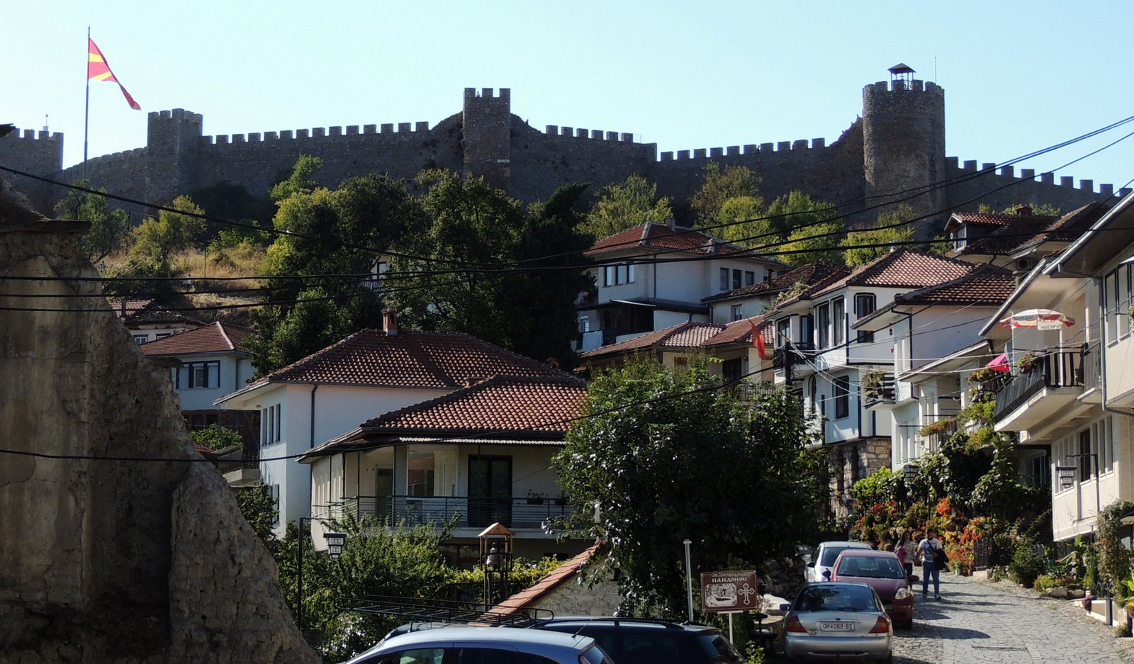 Festung von Ohrid