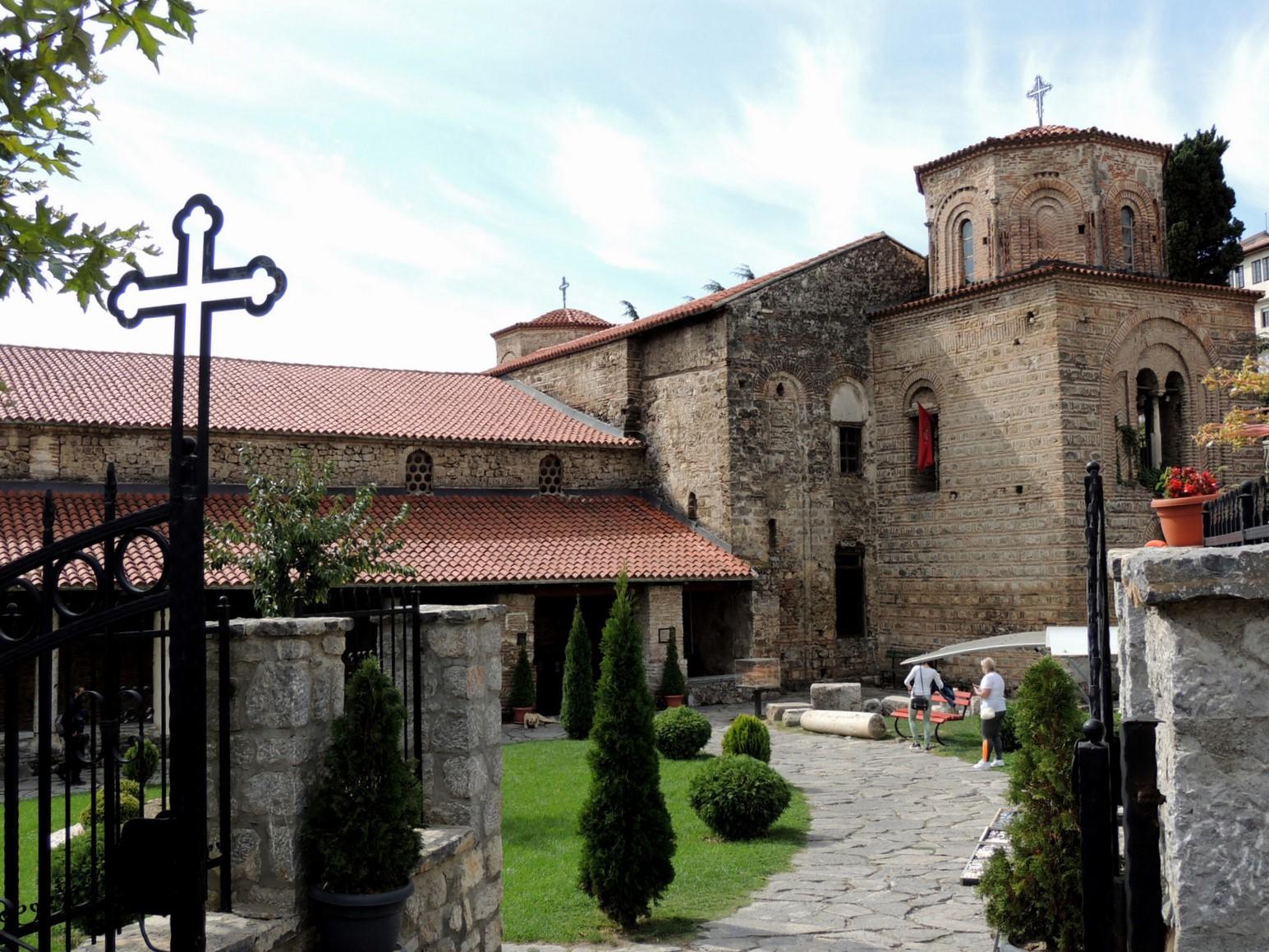Sveti Sophia in der Unterstadt von Ohrid