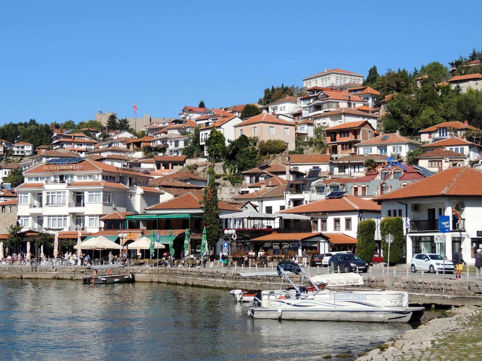 Ohrid, Seepromenade
