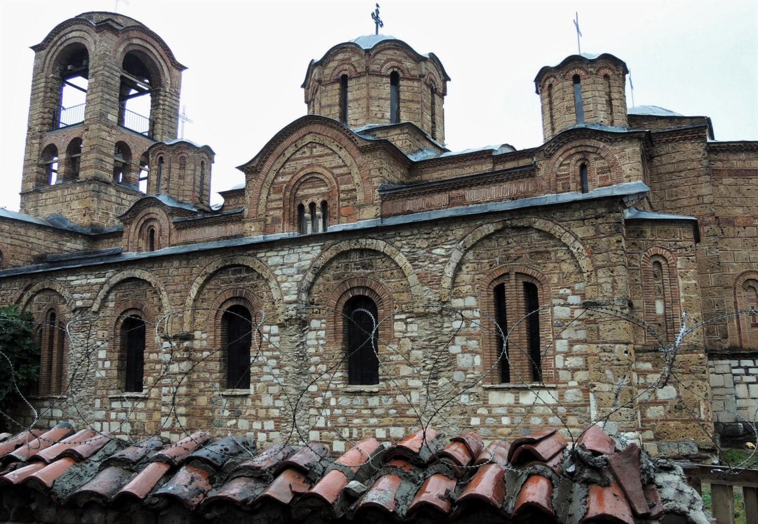 Muttergottes-Kirche Ljeviska, Prizren im Kosovo