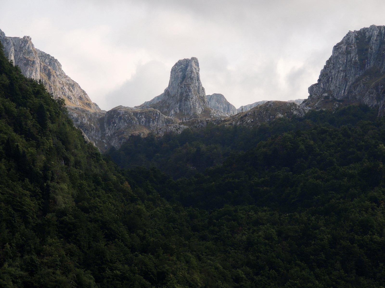 Grenzgebirge von Montenegro und Albanien - Prokletije Nationalpark