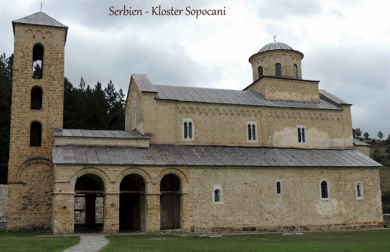 Kloster Sopocani - Serbien