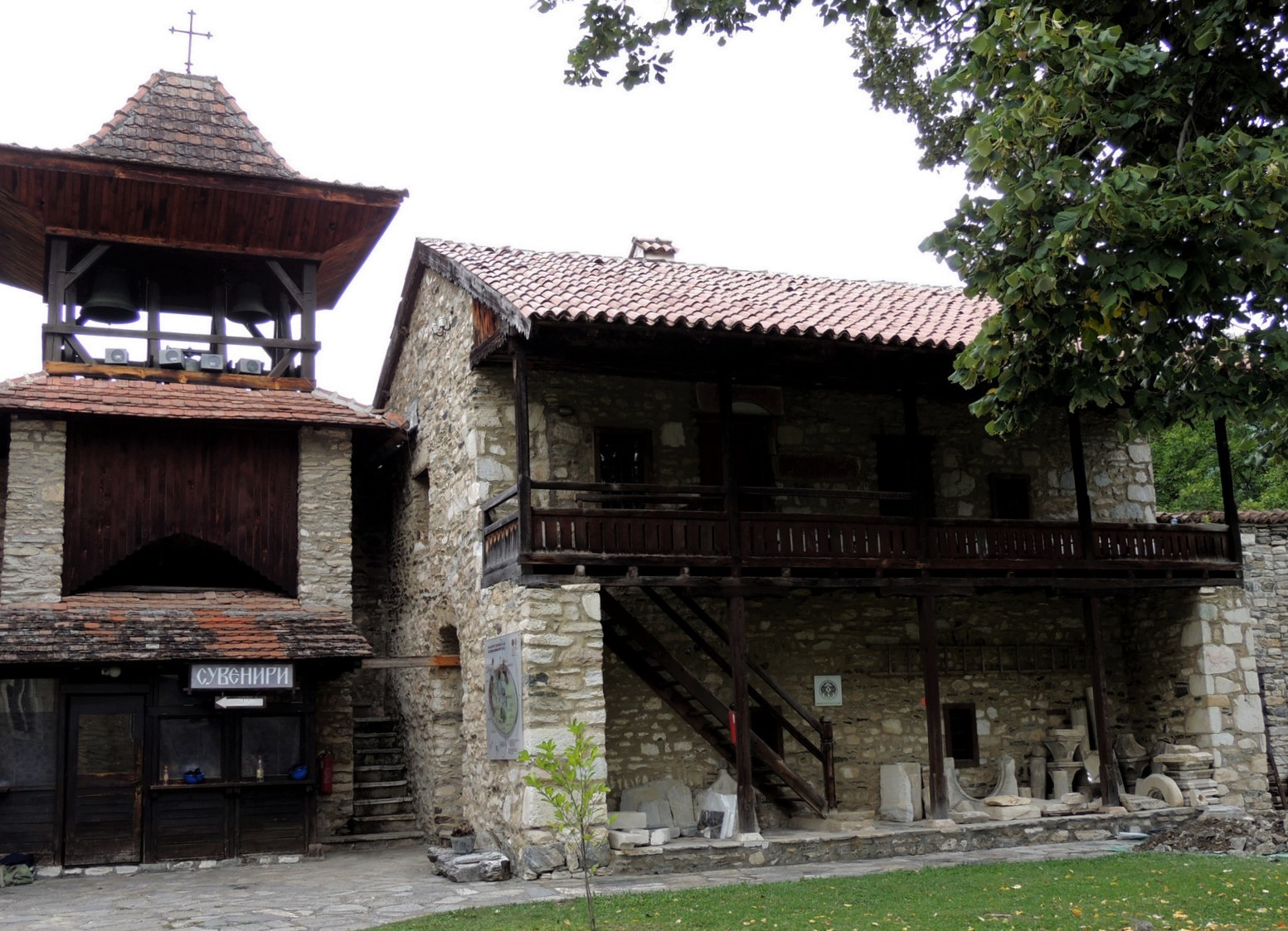 Kloster Studenica - Serbien - Westtor