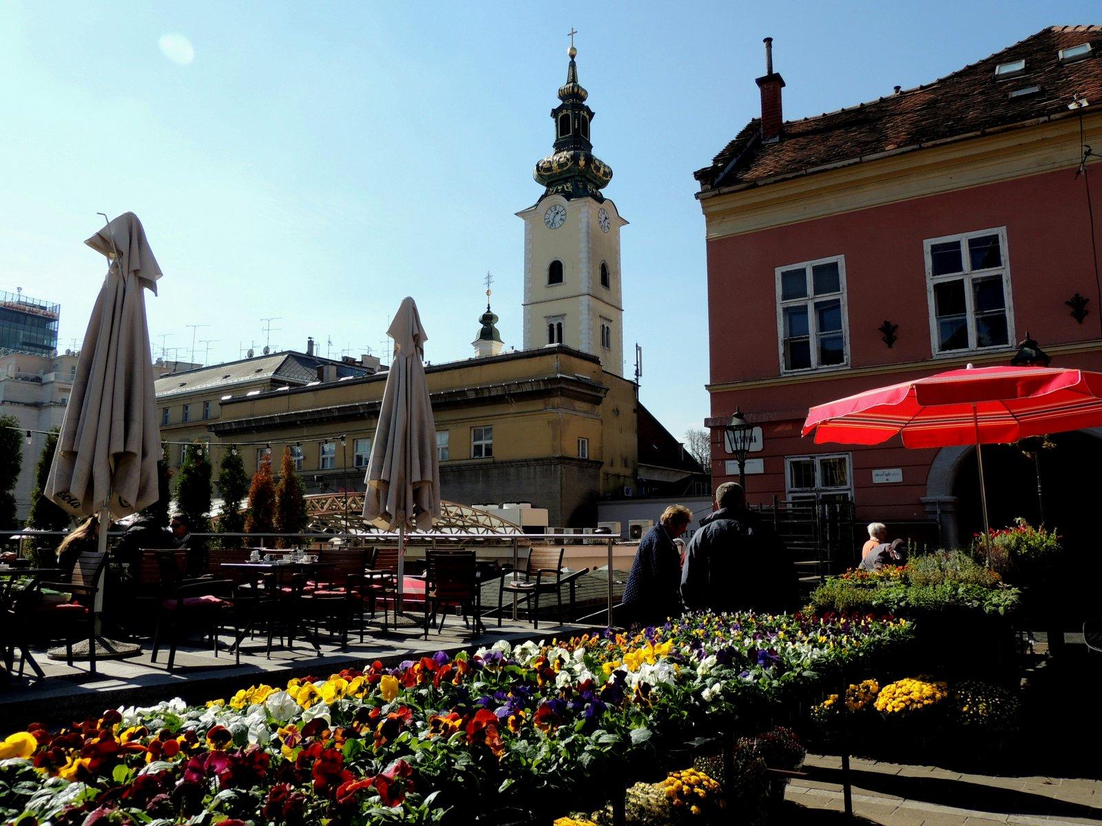Marktplatz von Zagreb