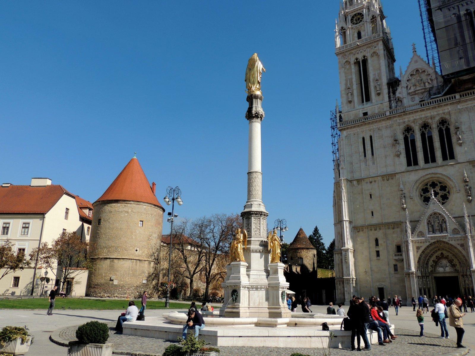 Muttergottes-Statue Zagreb