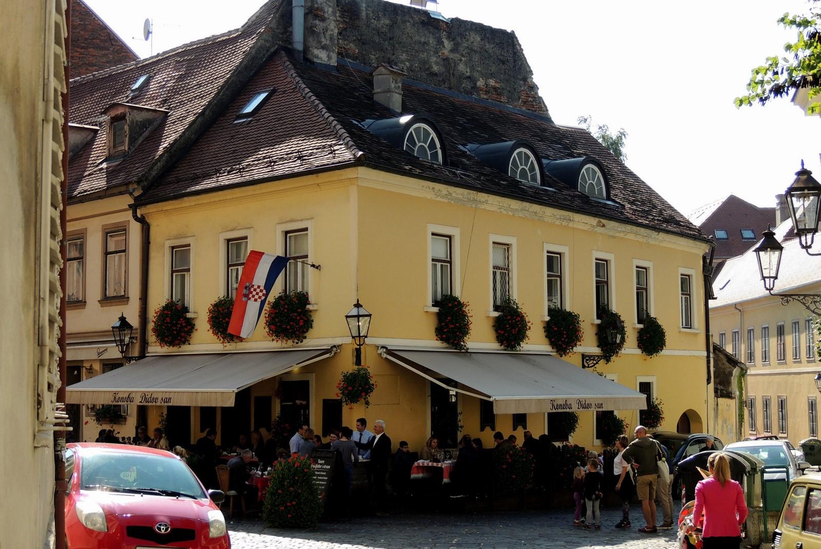 Entlang des Autoput - Konoba Didov San in Zagreb