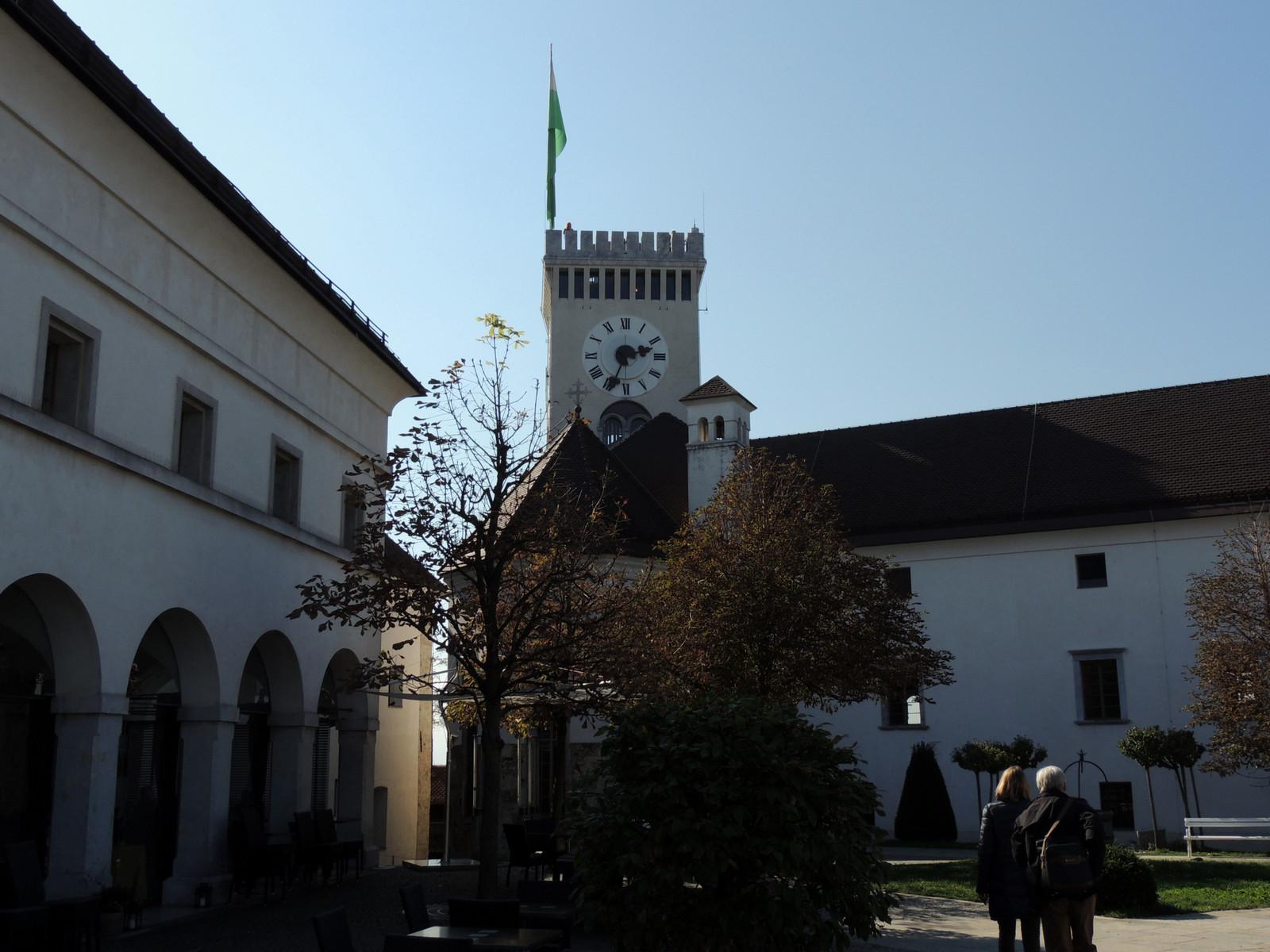 Entlang des Autoput - die Burg von Ljubljana