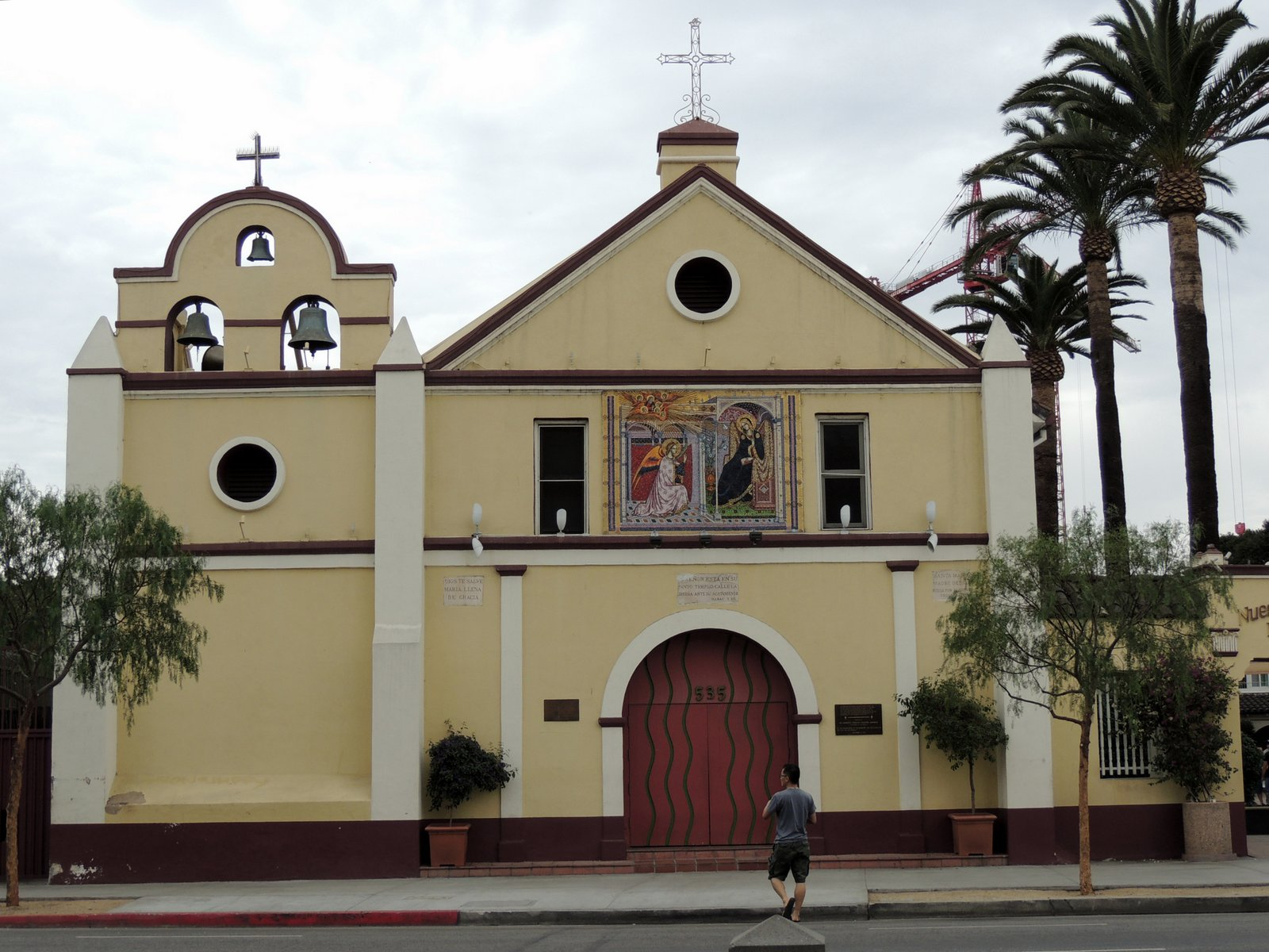 "Kirche""de Nuestra Senora la Reina de Los Angeles"" - Südkalifornien"