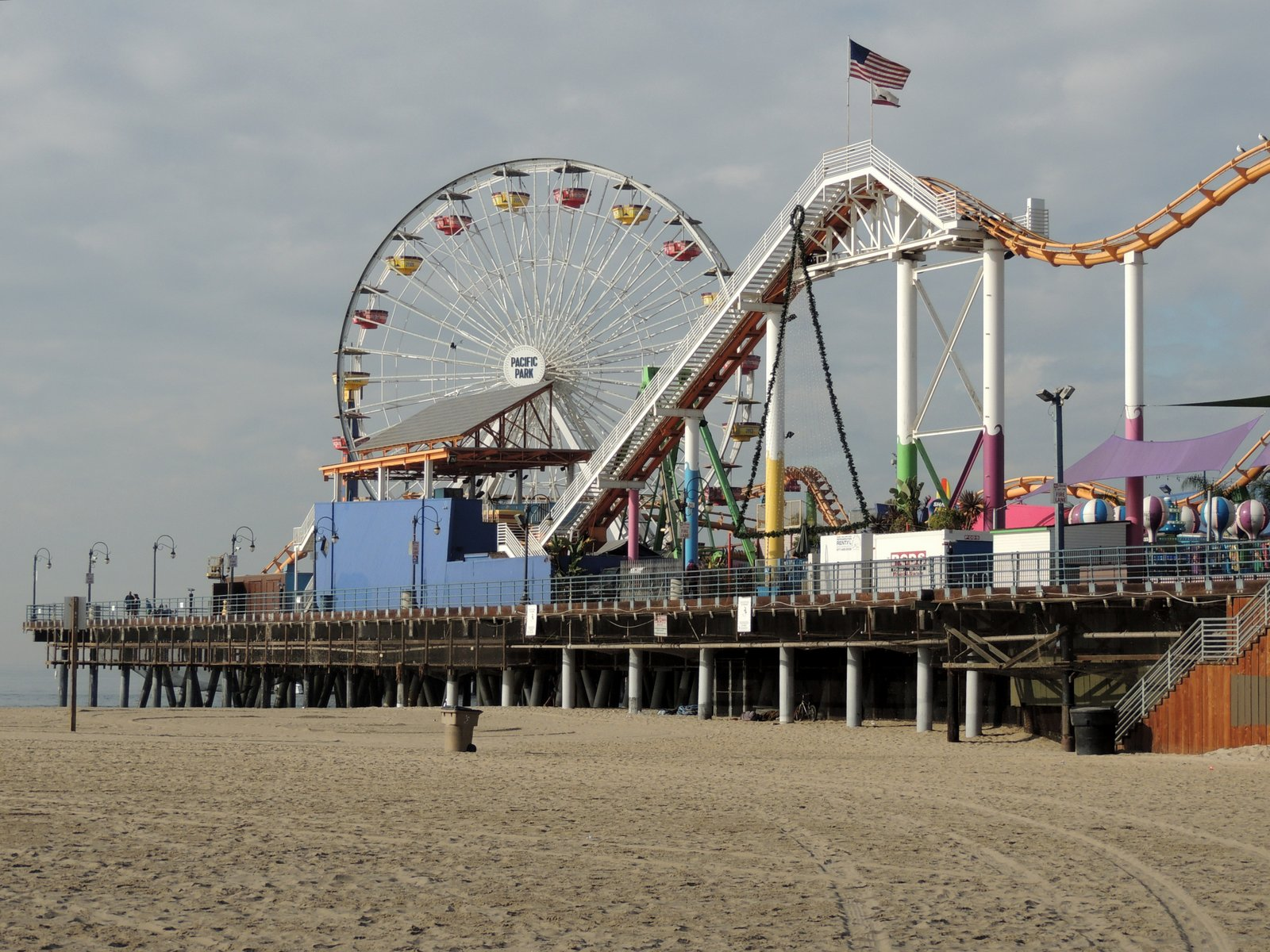 Santa Monica Pier - Südkalifornien