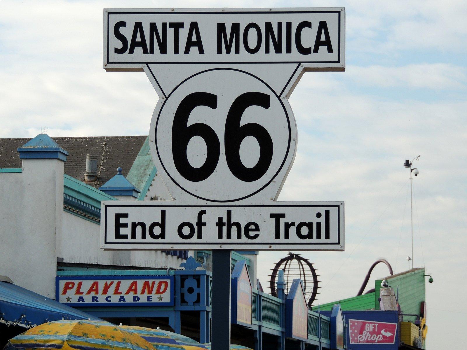 Pier von Santa Monica in Südkalifornien