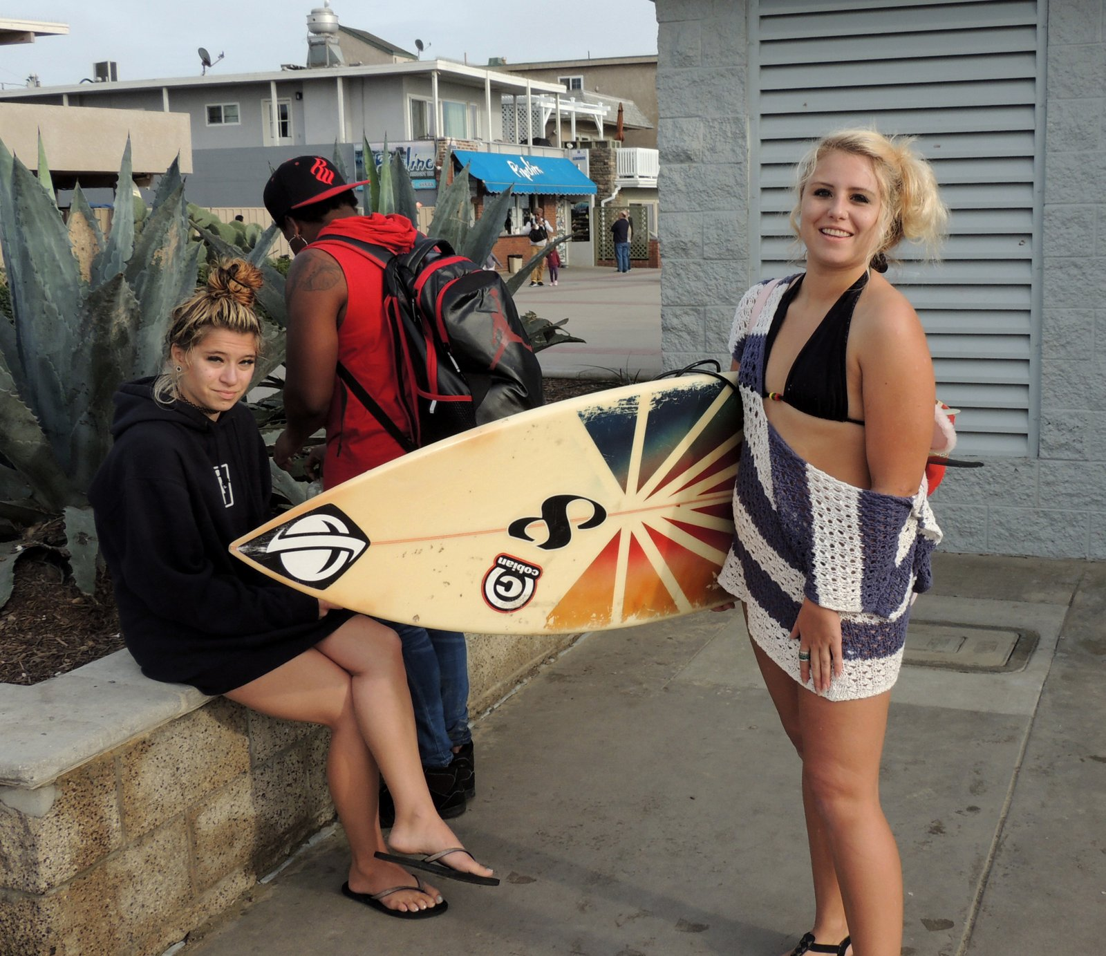 Surf Girl - Südkalifornien