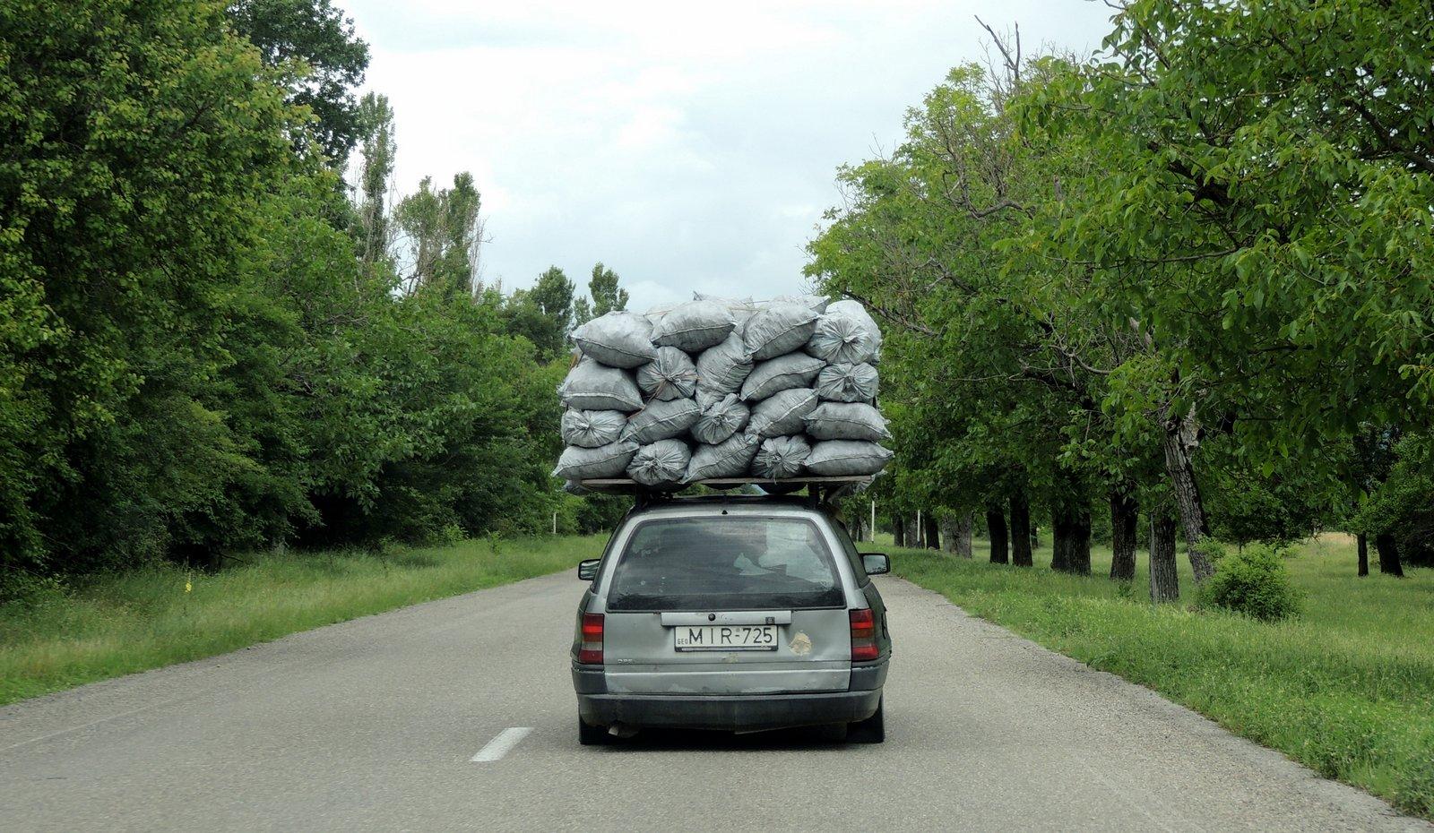 Auf den Straßen von Georgien