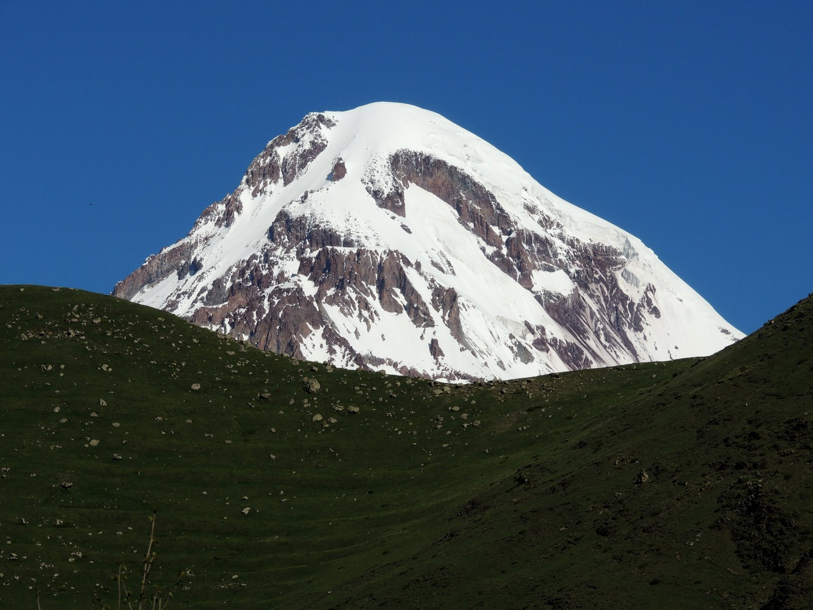 Kazbeg im Kaukasus - Georgien