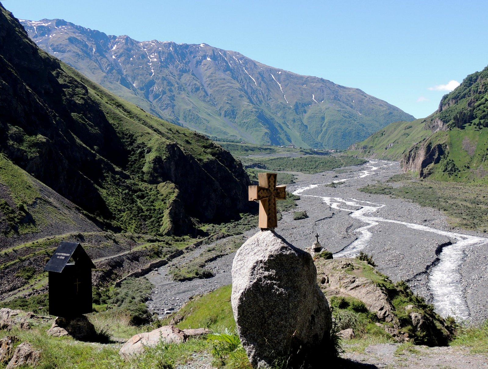 Darialschlucht im Kaukasus