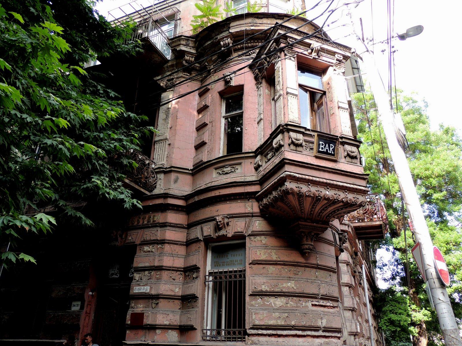 Jugendstilhaus in Tiflis